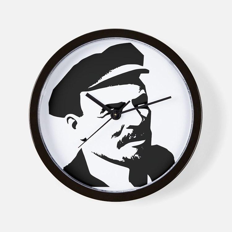 Lenin Wall Clock