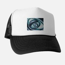 Blue Eyes of A Machine Trucker Hat