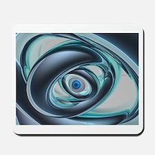 Blue Eyes of A Machine Mousepad