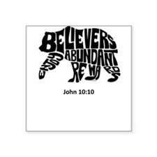 BEAR: Believers Enjoy Abundant Rewards Sticker