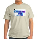Wins Souls Is Wise Back/Front Ash Grey T-Shirt
