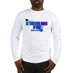 Wins Souls Is Wise back/Ft. Long Sleeve T-Shirt
