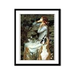 Ophelia & Boxer Framed Panel Print