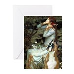 Ophelia & Boxer Greeting Cards (Pk of 10)