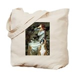 Ophelia & Boxer Tote Bag