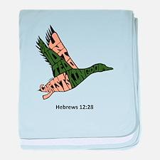 DUCK: Devoted Unto Christ's Kingdom baby blanket