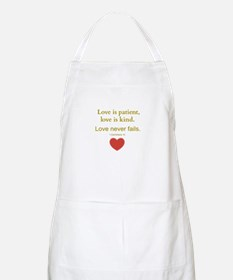 Love is Patient, Love is Kind Apron
