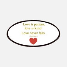 Love is Patient, Love is Kind Patches