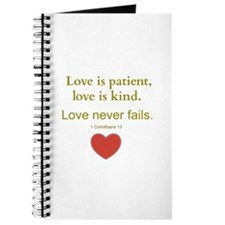 Love is Patient, Love is Kind Journal