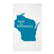 Made in Wisconsin 3'x5' Area Rug