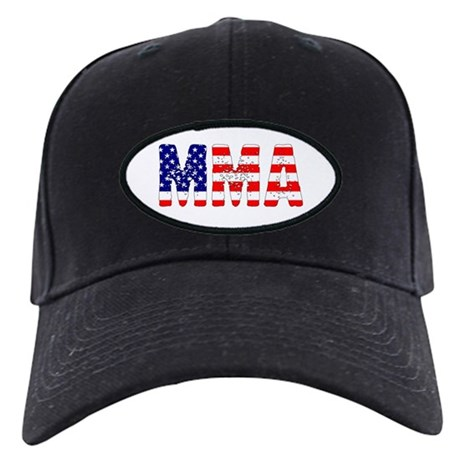 MMA USA Flag Black Cap