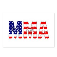 MMA USA Flag Postcards (Package of 8)