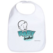 Baby Brother Bib (Retro)