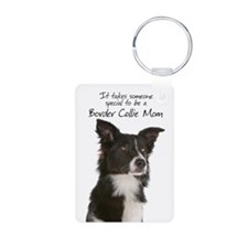 Border Collie Mom Keychains