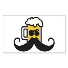 Beer Mustache Decal