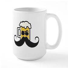 Beer Mustache Mugs