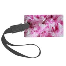 Pink Art and Design Luggage Tag