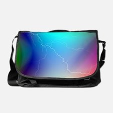 Colorful Art and Design Messenger Bag