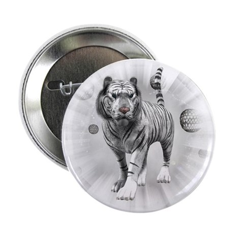 "White Tiger 2.25"" Button (10 pack)"