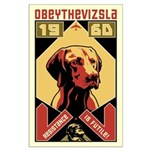 Obey the Vizsla! 1960 Large Poster