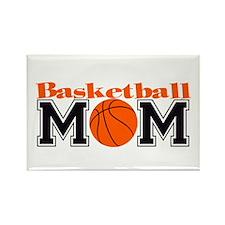 Basketball Mom Rectangle Magnet (10 pack)