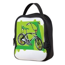 Vintage Boy's Bike Neoprene Lunch Bag
