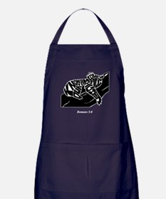 KOALA: Know Our Almighty Loves All Apron (dark)