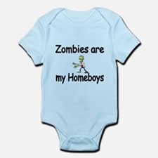 Zombies are my Homeboys Body Suit