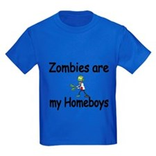 Zombies Are My Homeboys T