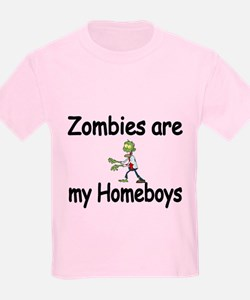 Zombies Are My Homeboys T-Shirt