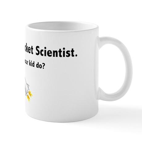 Rocket Scientist Son Mug