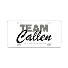 TEAM CALLEN Aluminum License Plate