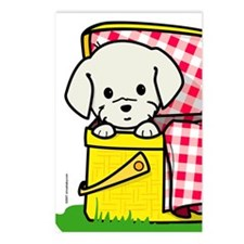 Puppy Picnic Postcards (Package of 8)