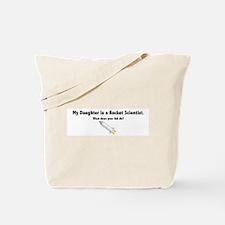 Rocket Scientist Daughter Tote Bag