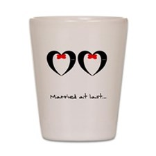 Married at Last  Shot Glass