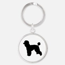 poodle 2 Keychains