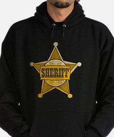 Sheriff Star Badge Design For Wester Hoodie