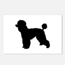 poodle 2 Postcards (Package of 8)