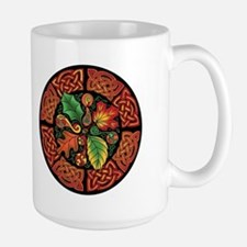 Celtic Autumn Leaves Mug