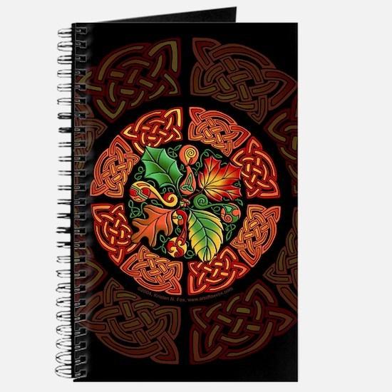 Celtic Autumn Leaves Journal