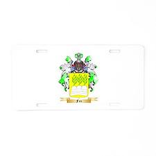 Fau Aluminum License Plate