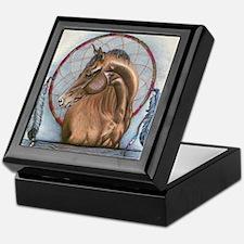 Horse with Dreamcatcher Keepsake Box