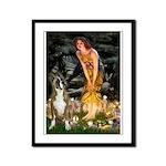 Fairies & Boxer Framed Panel Print