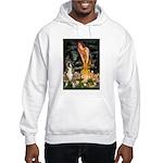 Fairies & Boxer Hooded Sweatshirt