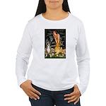 Fairies & Boxer Women's Long Sleeve T-Shirt