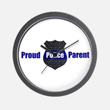 Proud Parent Of A Police Officer Wall Clock