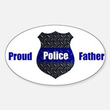 Proud Police Father Decal