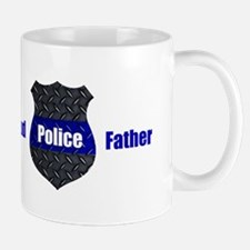 Proud Police Father Mugs