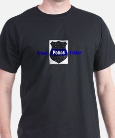 Proud Police Father T-Shirt
