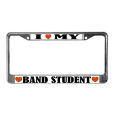 Band Student License Plate Frame
